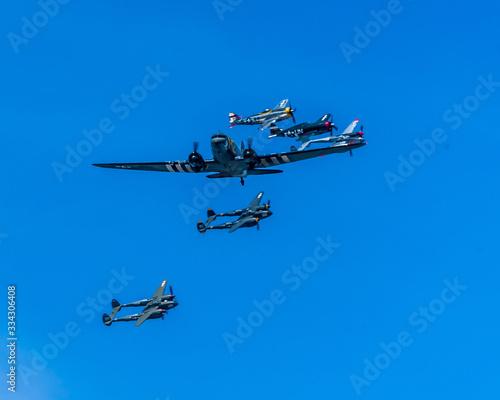 WWII Aircraft Warbirds