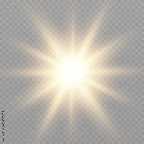 Photo Glow light effect