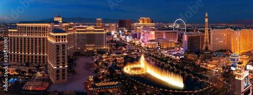 Photo Las Vegas Strip night
