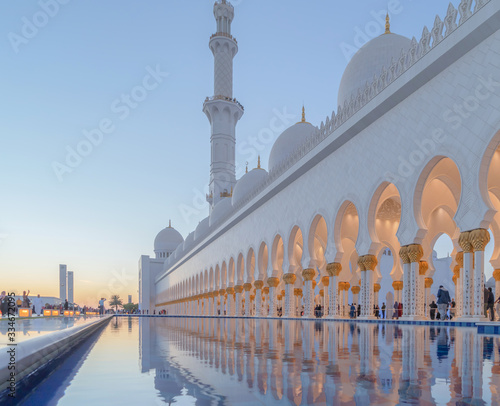 Sheikh Zayed Grand Mosque Center, Abu Dhabi Fototapeta