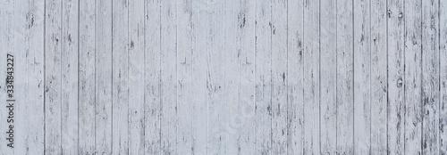 Fotografie, Obraz Panorama Hintergrund - Detail einer hellgrau gestrichenen, zum Teil stark verwit