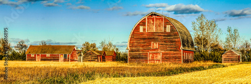Tableau sur Toile Old Red Barn