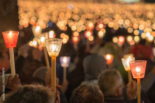 Fotografija Candles procession of Our Lady Fatima