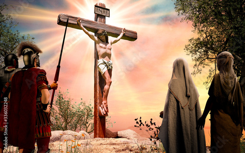 Foto Jesus Christ on the Cross Crucifixion