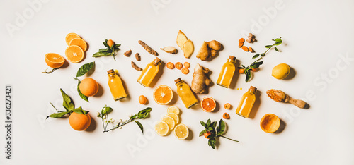 Stampa su Tela Immune boosting natural vitamin health defending drink to resist virus