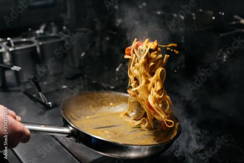 Carta da parati Italian pasta recipe