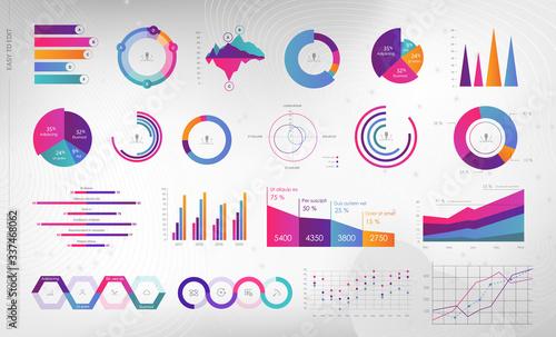 Canvas Print Editable Infographic Templates