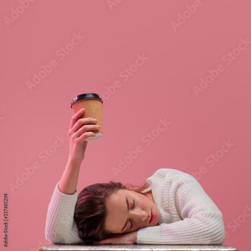 Fotografie, Tablou I need more coffee
