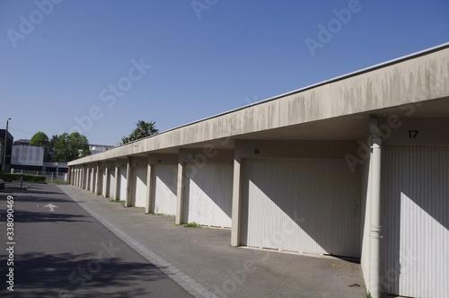 Fotografie, Obraz Les garages