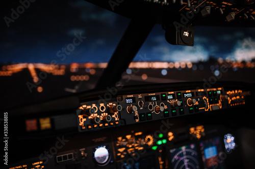 Autopilot controller Fototapet