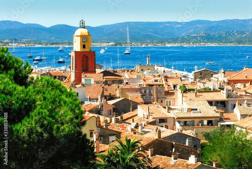 Obraz na plátně village de Saint Tropez