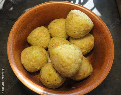 Fototapeta Kartoffelknödel