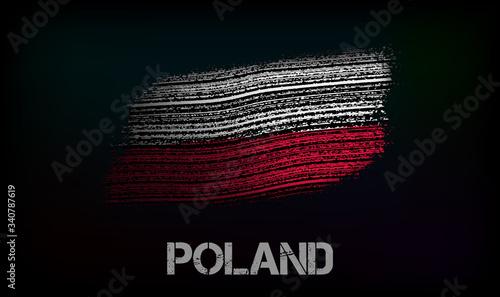 Photo Flag of the Poland
