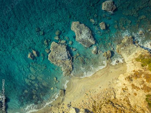 Fotografie, Obraz Sea from a bird's-eye view