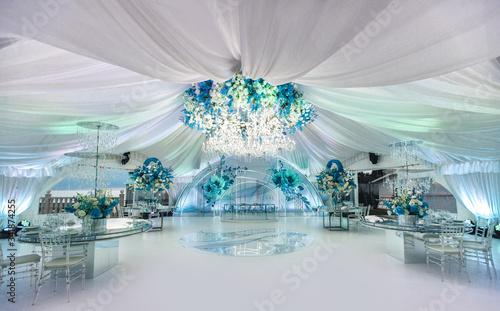 Valokuva Wedding ceremony in a beautiful tent