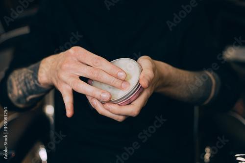 Fototapeta balm-wax