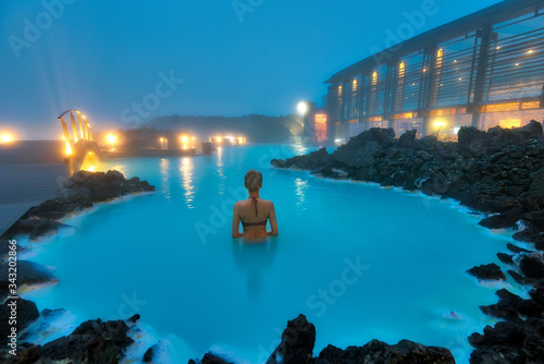 Photo Blue Lagoon Swimming Pool in Western Iceland