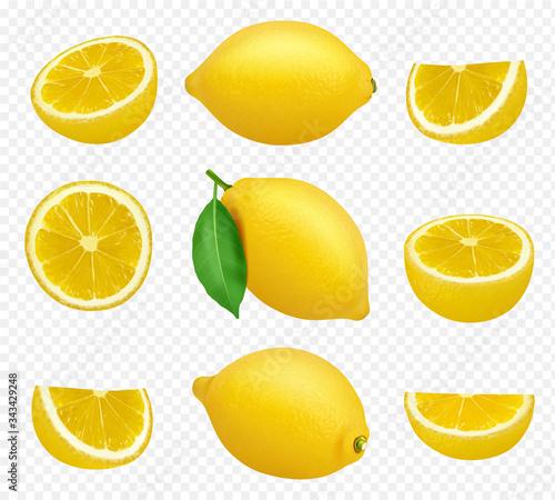 Fotografie, Obraz Lemons collection