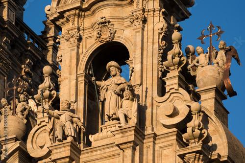 Foto Statue of apostle Saint James