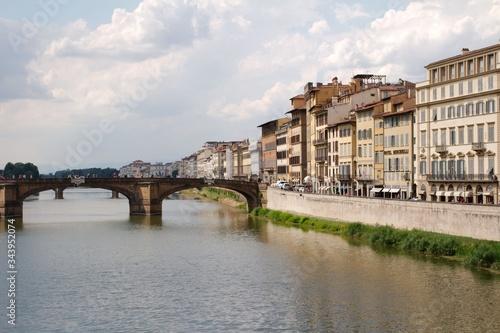 Fototapeta premium Ponte Vecchio (Most Złotników) - Florencja, Toskania, Wlochy