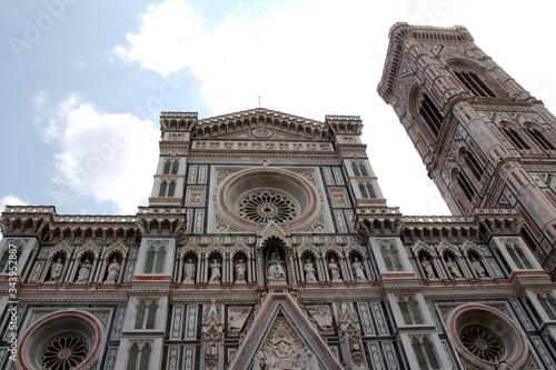 Fototapeta premium Katedra Santa Maria del Fiore - Florencja, Toskania, Wlochy