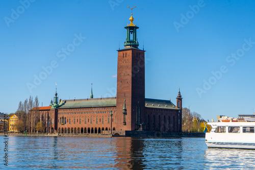 Carta da parati The Stockholm City Hall (Stockholms stadshus)