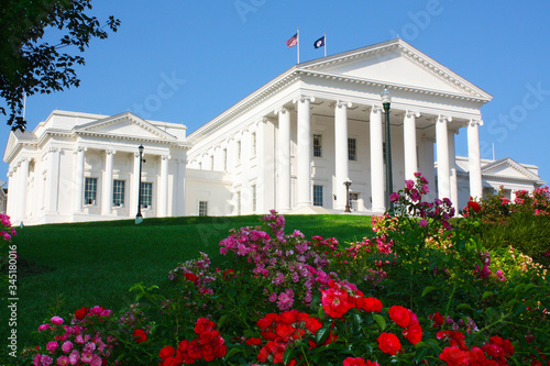 Fotografia Virginia State Capitol, Richmond, Virginia