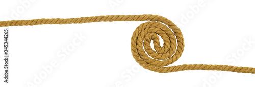 Fotografia Brown cotton rope cur