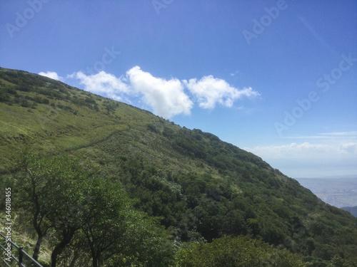 Fotografie, Obraz Lush landscape of Mount Ibuki