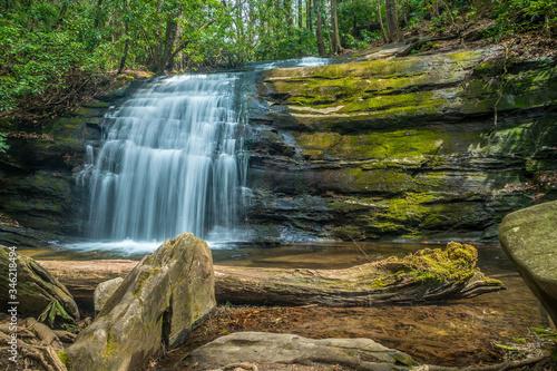 Vászonkép Long creek falls Appalachian trail