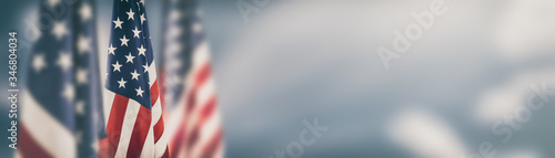 Canvastavla American flag for Memorial Day, 4th of July, Labour Day