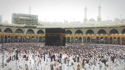 Group Of People At Mecca