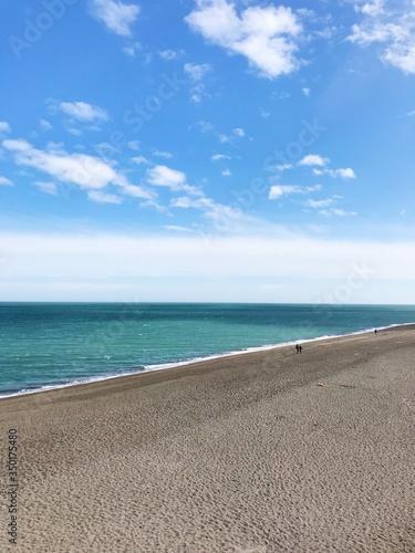 Obraz na plátne Scenic View Of Sea Against Sky