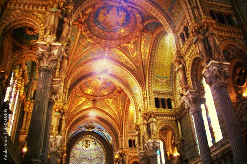 Obraz na płótnie Interior Of Cathedral Of St John The Baptist