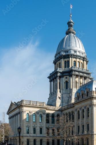 Valokuvatapetti Illinois State Capitol Dome