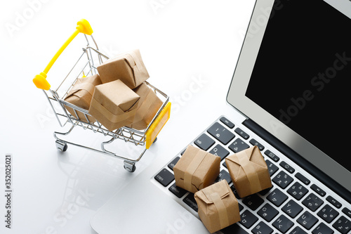 Fotografía ネット通販の買い物