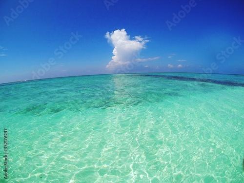 Fotografia Scenic View Of Sea Against Sky