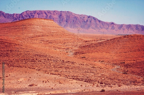 Photographie Scenic View Of Arid Landscape