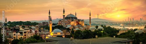 Fotografie, Obraz Hagia Sophia in Istanbul