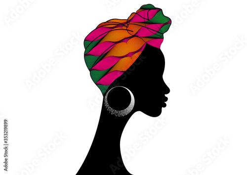 Photo portrait beautiful African woman
