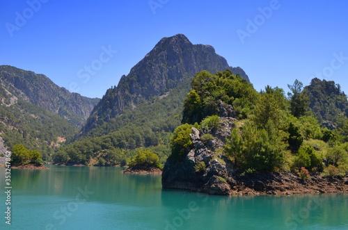 Fotografie, Obraz Turcja, Green CANYON.