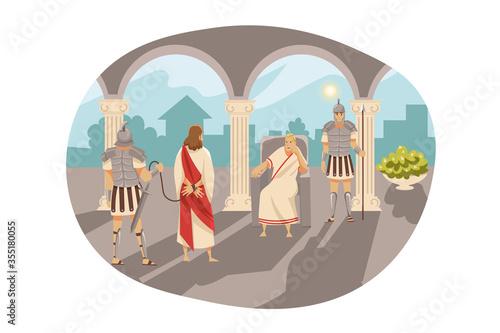 Obraz na plátně Bible, religion, christianity concept