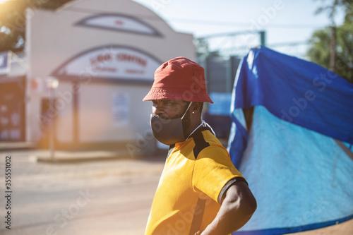 Valokuva township life