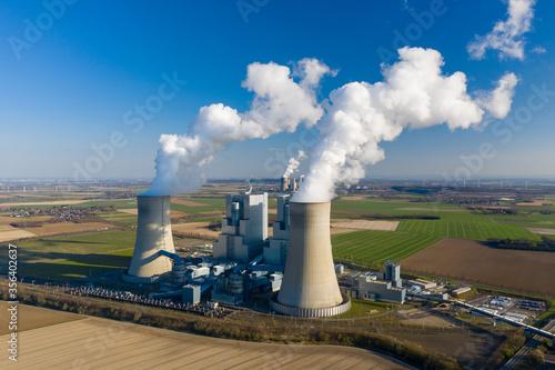 Fotografia Brown coal power plant