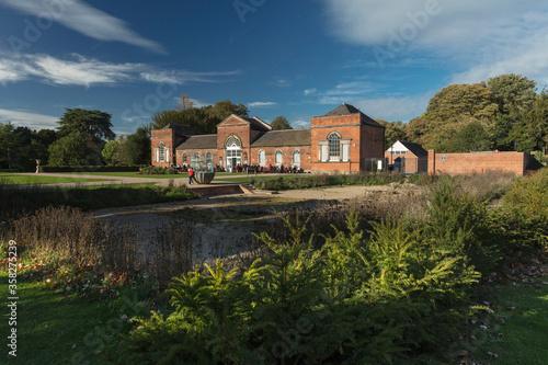 Obraz na płótnie Derby, Derbyshire, UK: October 2018: Orangery in Markeaton Park