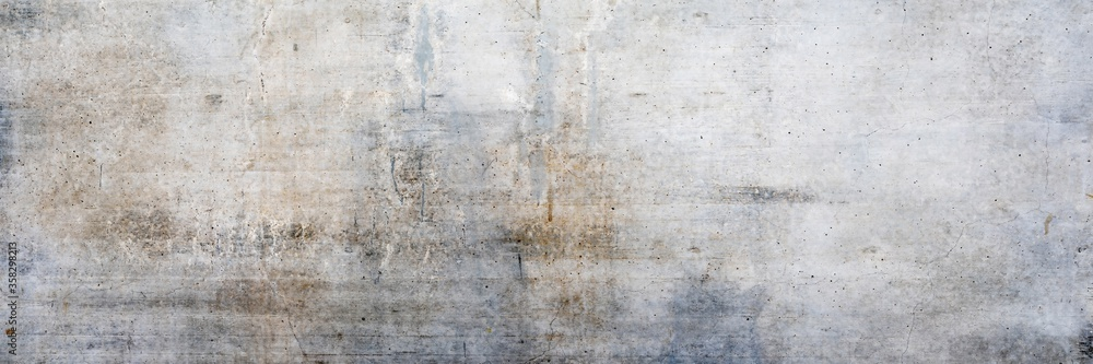 Texture of an old dirty concrete wall as a background