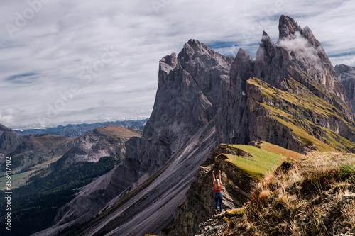 Fotografie, Obraz Dolomites Alps