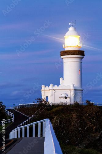 Obraz na płótnie Byron Bay lighthouse, New South Wales, Australia