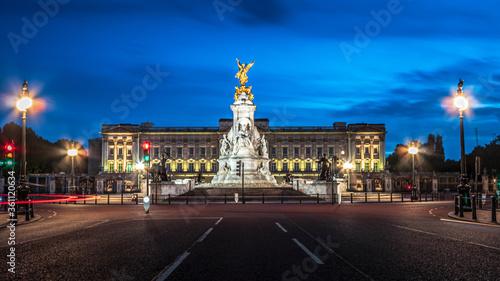 Photo Buckingham Palace during lockdown