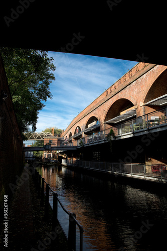 Manchester, Greater Manchester, UK, October 2013, Deansgate area of Manchester s Fototapeta